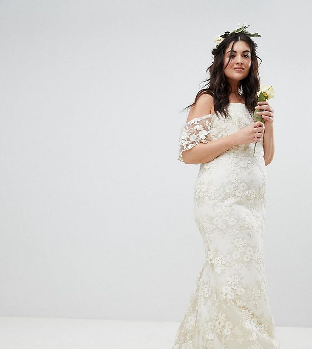 The Best Wedding Dress Styles For Plus Size Brides Who What Wear Au