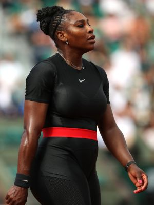Serena Williams Just Made Her Comeback in a Symbolic Nike Catsuit