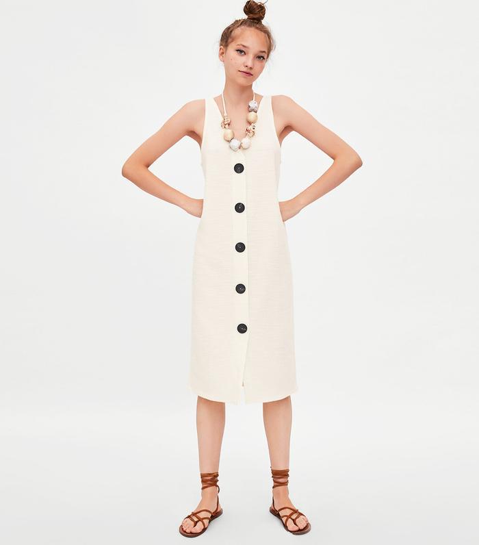 51800a813a2 Zara s Biggest Dress Trend of Summer 2018