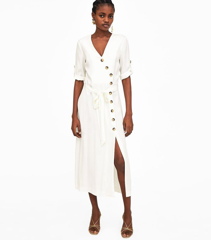 3c0d03833ae Zara s Biggest Dress Trend of Summer 2018