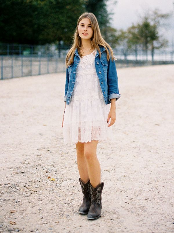 14 Stylish Outfits With Cowboy Boots Who What Wear