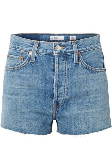 024ce94bda 6 Flattering Denim Short Outfits to Wear This Summer | Who What Wear