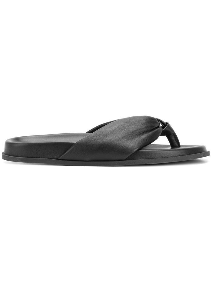 d880f89b0db82 Pinterest · Shop · Bassike Thong Strap Sandals ...
