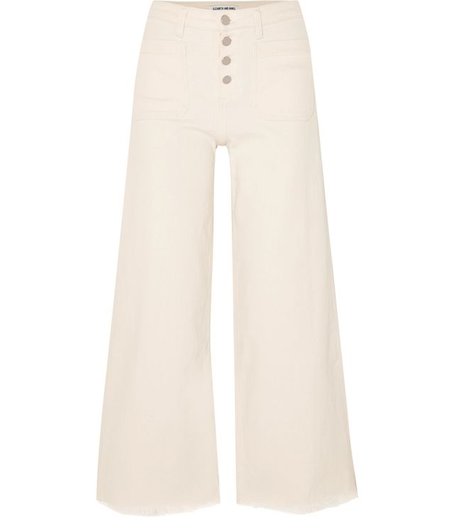 Carmine Mid-rise Wide-leg Jeans