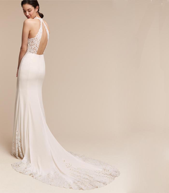 ff0f6335f 20 Halter Wedding Dresses for a Summer Wedding | Who What Wear