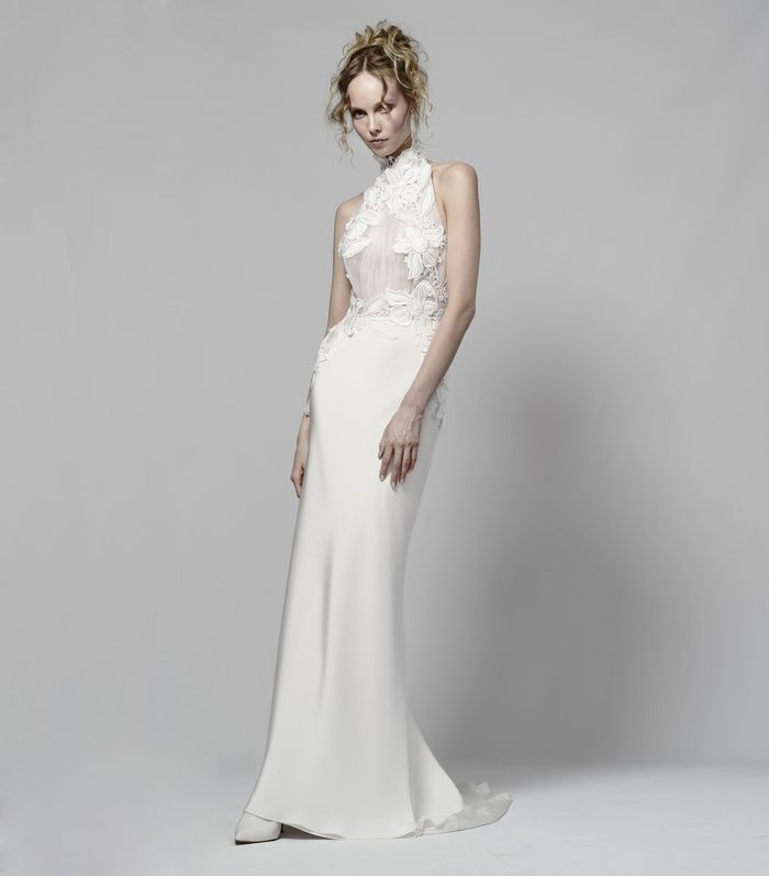 20 Halter Wedding Dresses for a Summer Wedding | Who What Wear