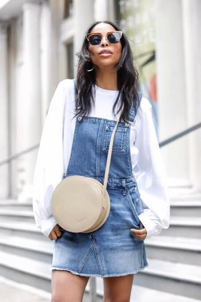 how to style overalls this summer  who what wear