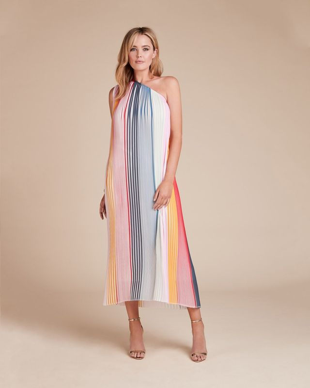 Tome Pleated Caftan Dress