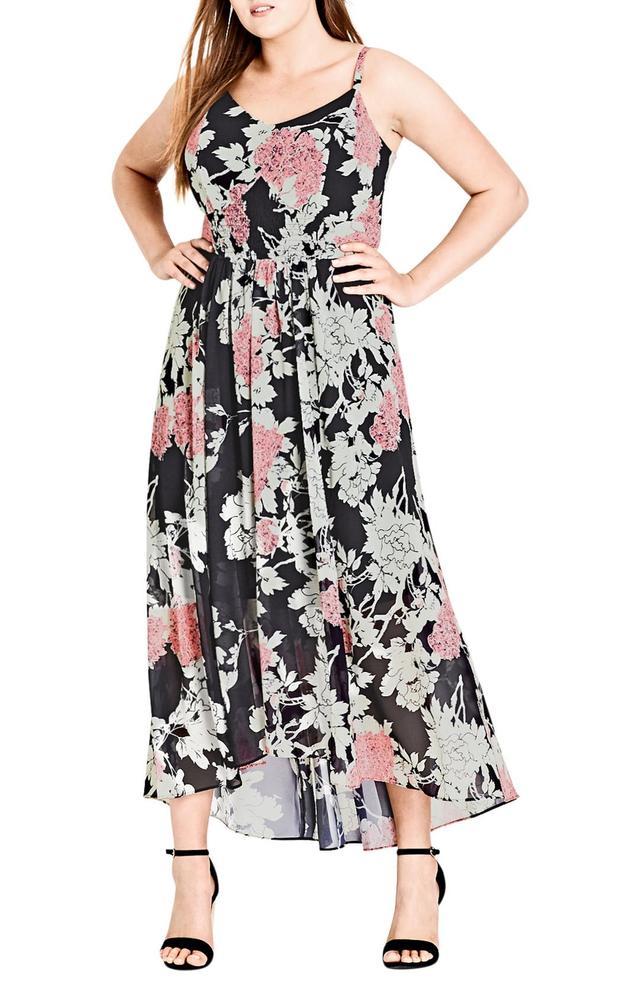 Bonsai Floral Maxi Dress