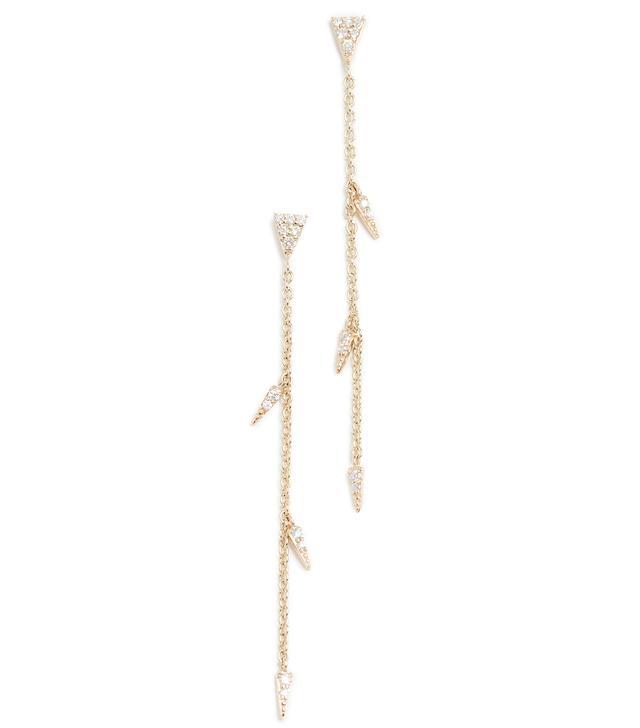 Medium Fringe Drop Earrings