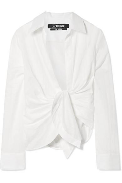 Bahia Knotted Cotton Shirt