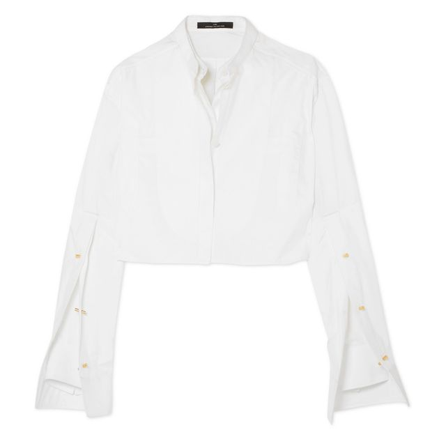 first-date outfit: white shirt