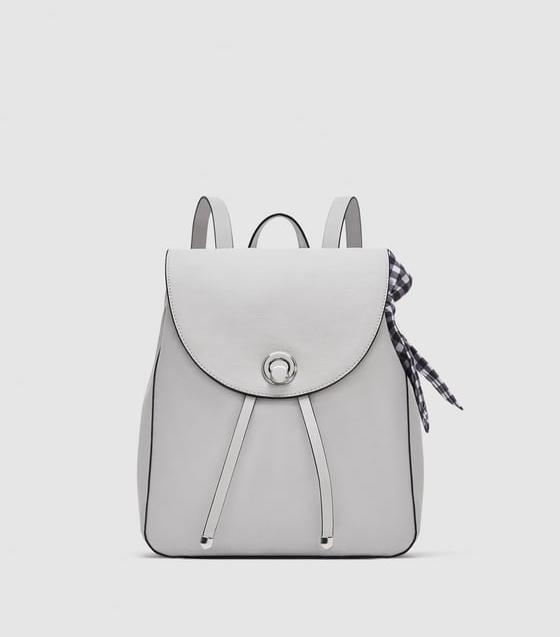 work backpack: Zara
