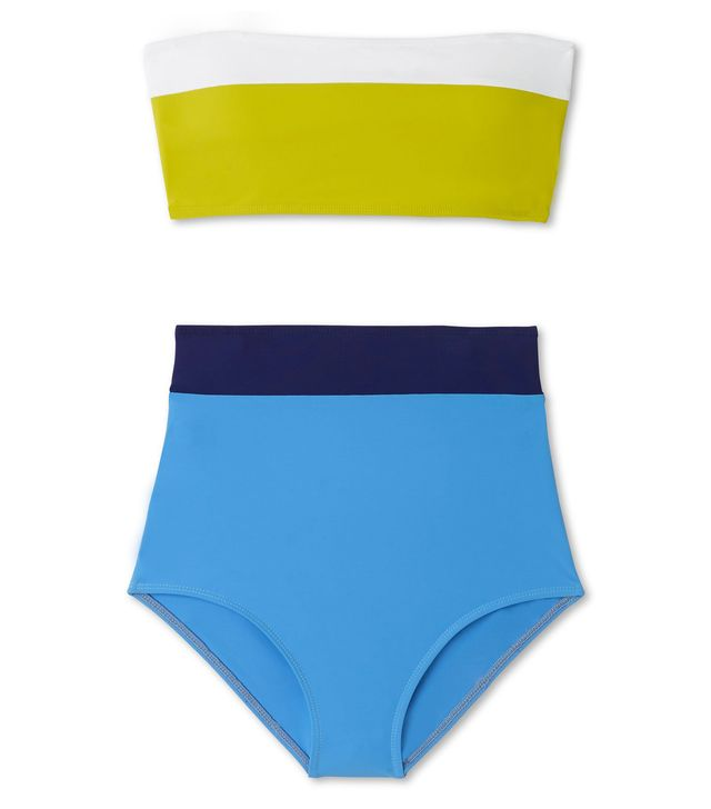 graphic swimsuit: Flagpole