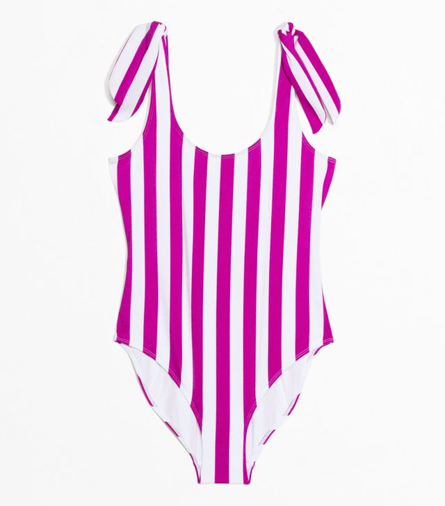 graphic swimsuit: & Other Stories
