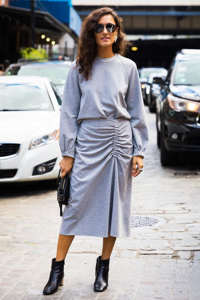 all-gray outfits for 2018
