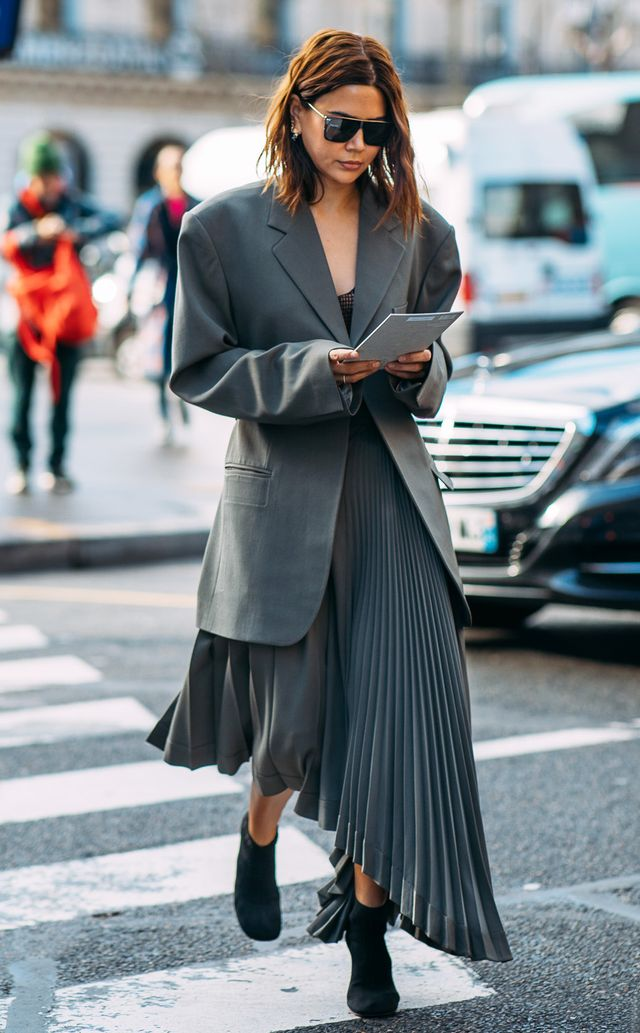 stylish all-gray outfits for 2018