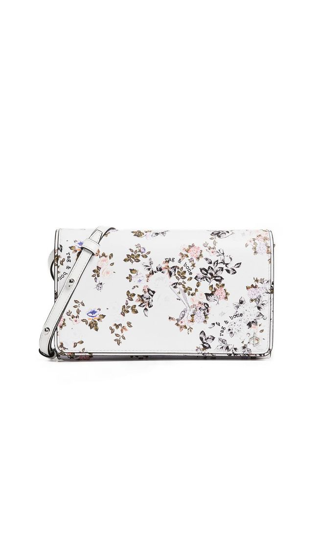 Floral Cross Body Wallet