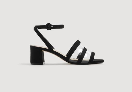Mango Breathable Panel Sandals