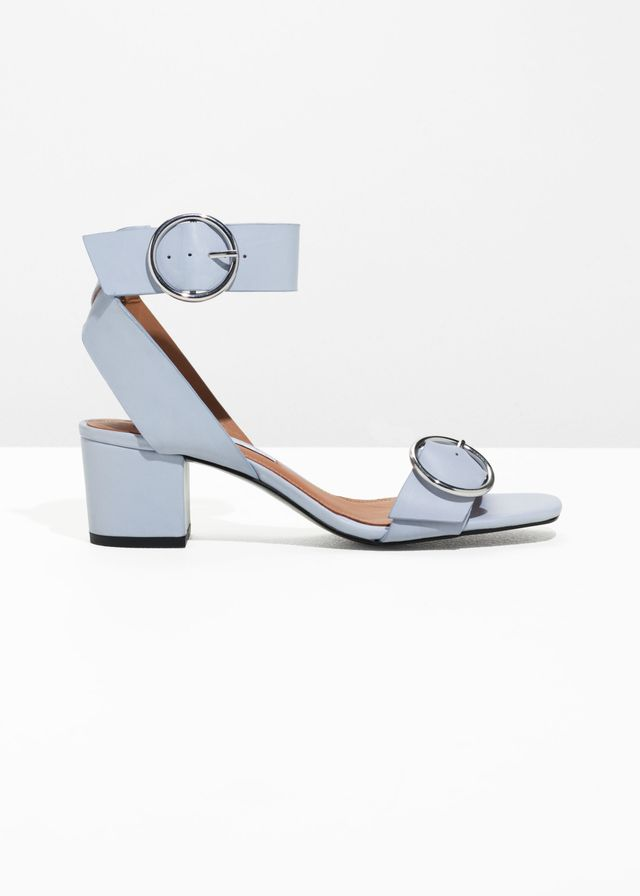& Other Stories Circle Buckle Sandals