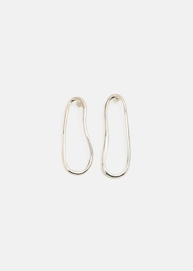 Arp Earrings Sterling Silver Size: One Size