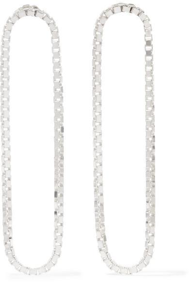 Loop Silver Earrings