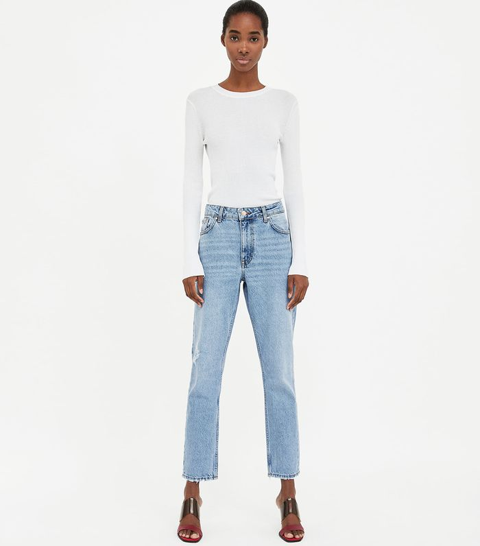 ea9bab4f Real Reviews of Zara Jeans | Who What Wear