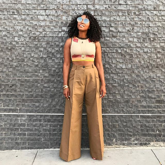 a27b7d05cb48 These 15 Outfits Prove You Need Beige Pants for Summer