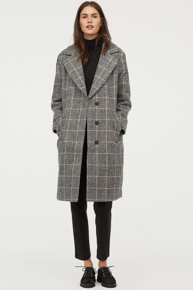 H&M Felted Coat