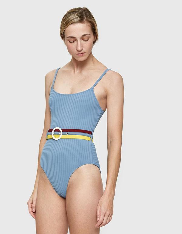The Nina Swimsuit in Ice