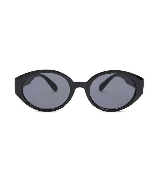 Forever 21 Oval Frame Sunglasses