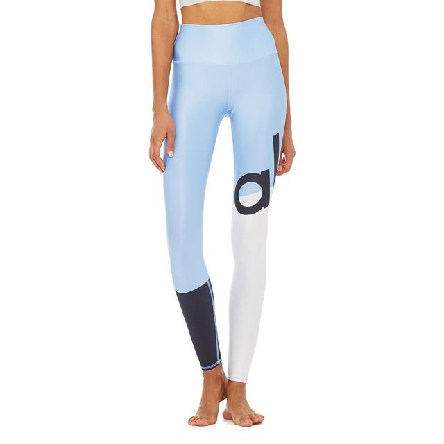 High-Waist Airlift Legging in Alo Graphic by Alo Yoga