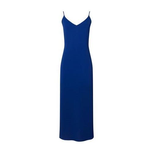 Blue Colored Wedding Dress