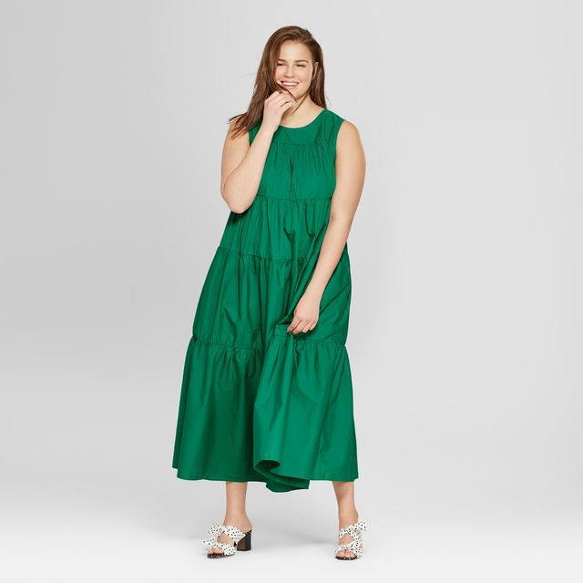 Who What Wear Tiered Maxi Dress