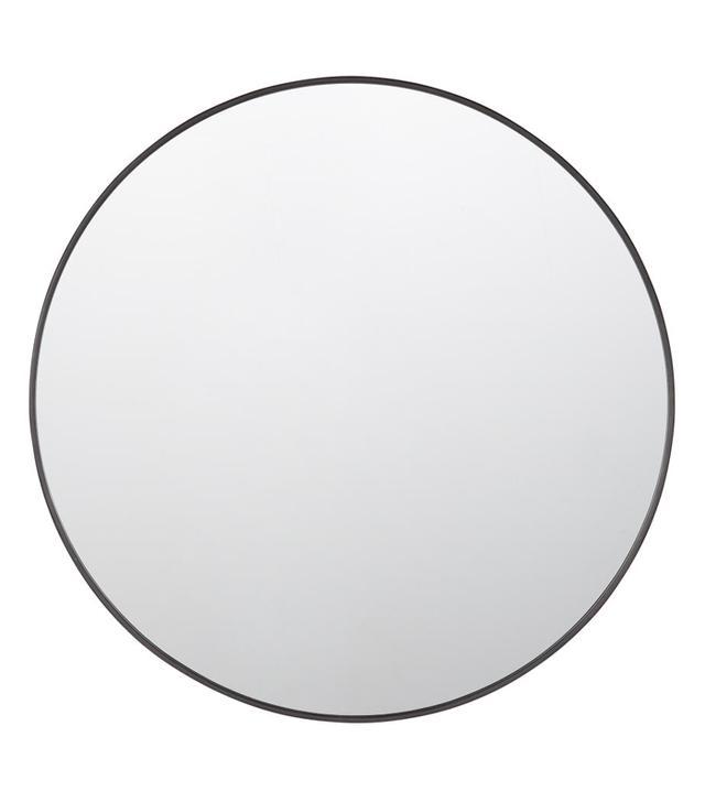 Rejuenation Round Metal Framed Mirror