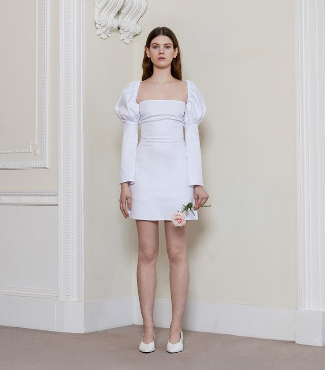 Oliva Rose the Label The Ophelia Dress in White