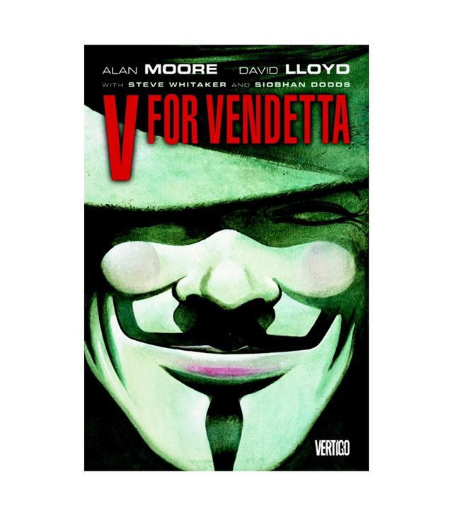 Alan Moore and David Lloyd V for Vendetta