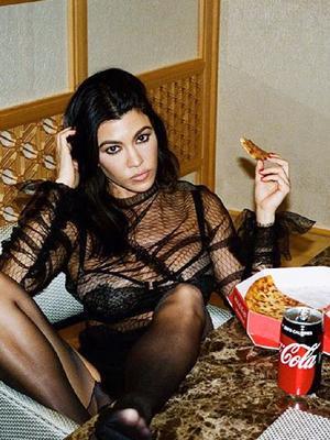 Kourtney Kardashian Reveals Her Exact Diet (and It's Intense)