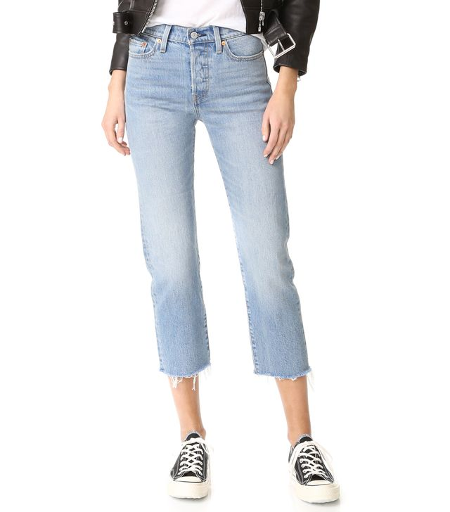 Wedgie Straight Jeans