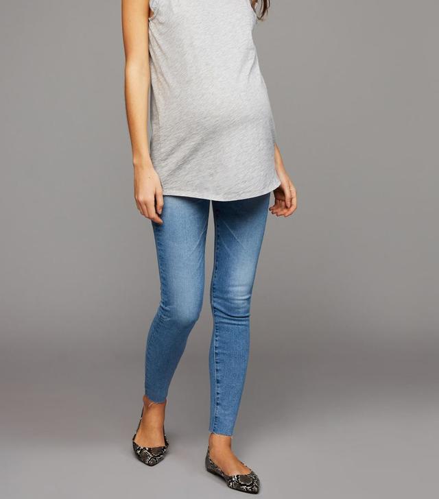 AG Secret Fit Belly Farrah Skinny Ankle Maternity Jeans