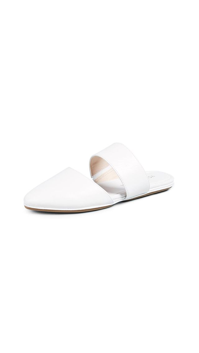 Vicky Point Toe Mules