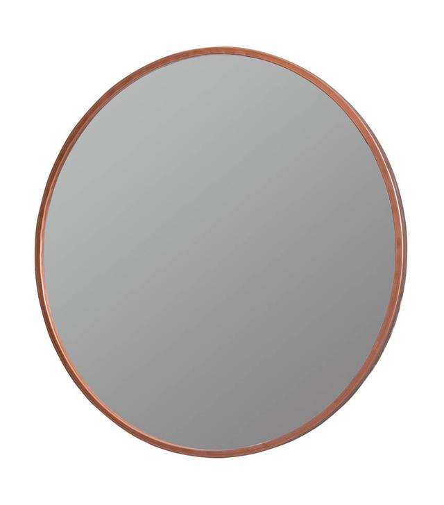 'Nova' Round Metal Mirror