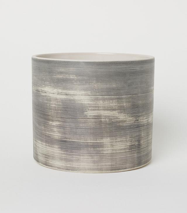 - Wooden Plant Pot - Wood - H & m Home