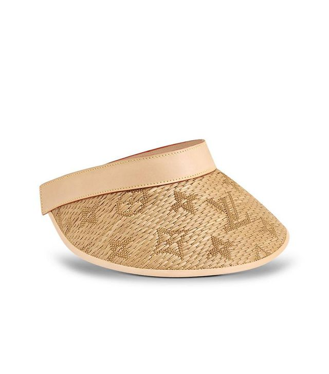 Louis Vuitton Strawgram Visor