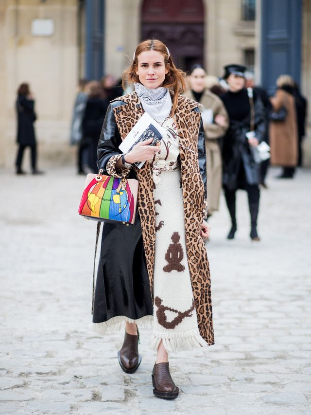 A Leopard Print Coat  The Winter Staple That Gives Life to Every Outfit 63018fab4338