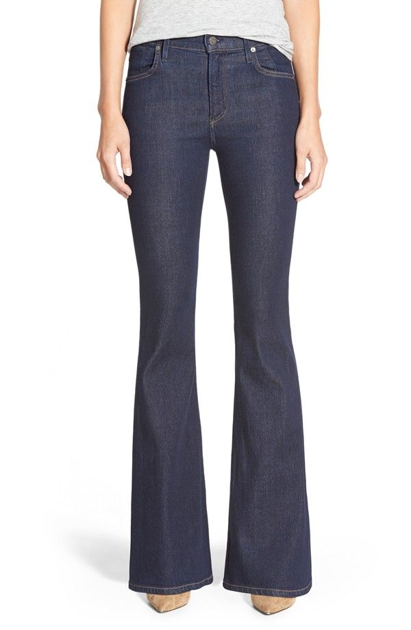 Petite Women's Citizens Of Humanity 'Fleetwood' High Rise Flare Jeans