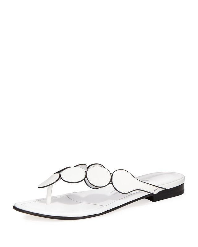 Ariflat Leather Thong Sandal
