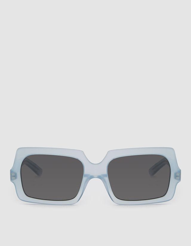 George Large Sunglasses in Light Blue