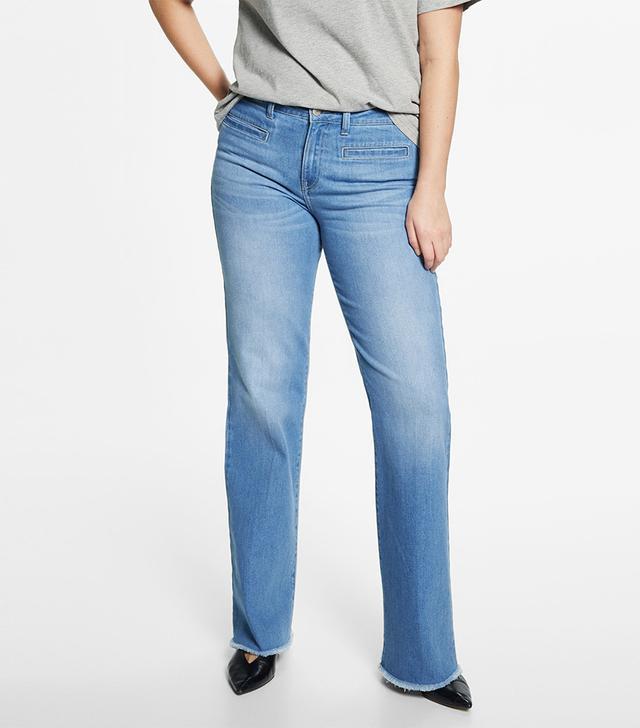 Violeta by Mango Flared Jeans