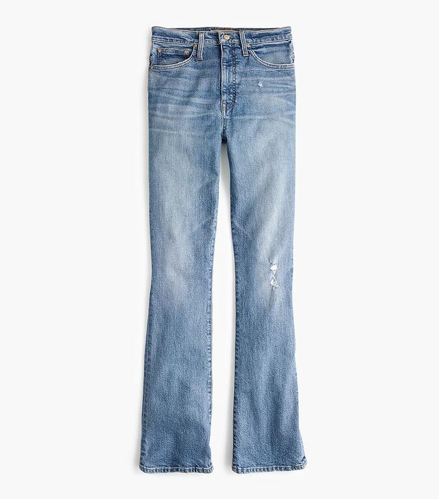 Point Sur skinny flare jean in vintage wash